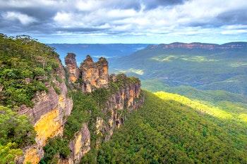 Drei Schwestern Australien - ©dinozzaver - Fotolia