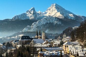 Berchtesgadener Land im Winter - ©Frank - Fotolia