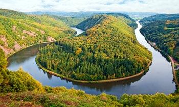 Saarschleife im Saarland - ©mojolo - Fotolia