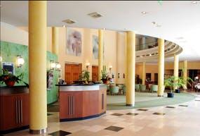 Quality Hotel Plaza Dresden – Rezeption, Copyright: RIMC Dresden Hotelbetriebsgesellschaft mbH
