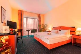 Quality Hotel Plaza Dresden – Zimmerbeispiel, Copyright: RIMC Dresden Hotelbetriebsgesellschaft mbH