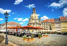 Dresden - Frauenkirche und Neumarkt, Copyright: seqoya - Fotolia