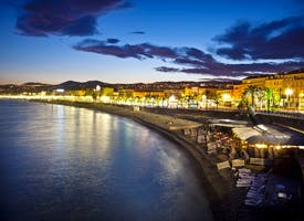 Reisebild: Single-Silvester in Nizza an der Cote d' Azur