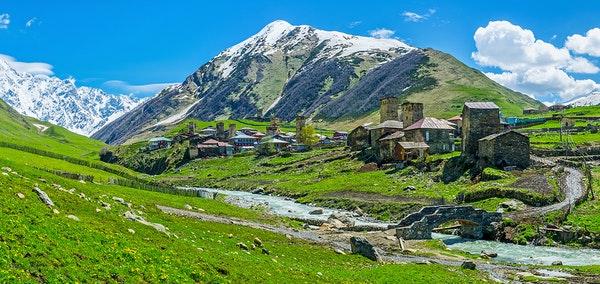 singlereise georgien zauberhaftes swanetien im kaukasus. Black Bedroom Furniture Sets. Home Design Ideas