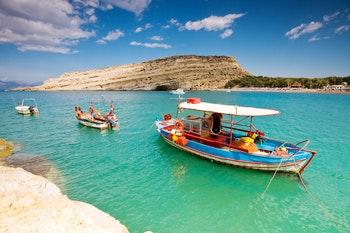 Matala Bucht auf Kreta - ©great_photos - Fotolia