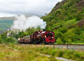 Reisebild: Zugreise durch England und Wales