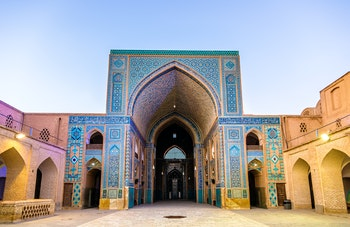 Jame-Moschee in Yazd - ©Leonid Andronov - Fotolia