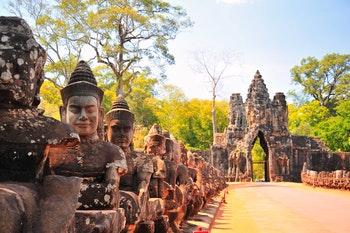 Steintor von Angkor Thom - ©karinkamon - Fotolia