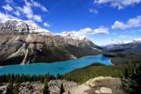 Peyto Lake im Banff National Park in den kanadischen Rocky Mountains - ©pixabay
