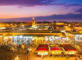 Reisebild: Städtereise Marrakesch - Orient pur in Marokko