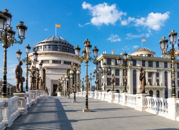 Mazedonien Skopje - ©Wallpaper - Fotolia - Adobe Stock