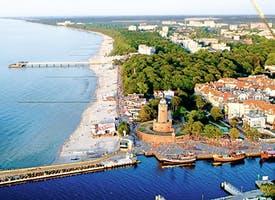 Reisebild: Saisoneröffnung Polnische Ostsee - Kolberg