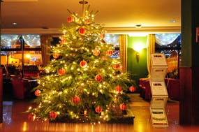 Weihnachtsbaum Hotel Lidia, Copyright: Hotel Lidia