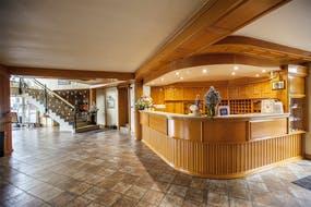 Rezeption Hotel Kormoran, Copyright: Hotel Kormoran
