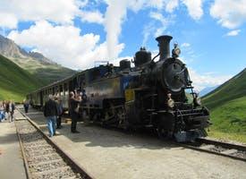Reisebild: Zugreise - Schweizer Dampfbahnromantik