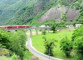 Reisebild: Bahnerlebnis Schweiz - Glacier- und Bernina-Express