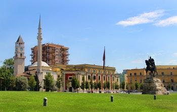 Zentrum von Tirana - ©Tanouchka - Adobe Stock