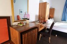 Hotel am Schlosspark Guestrow – Zimmerbeispiel Doppelzimmer Standard 3, Copyright: NHB Betriebsgesellschaft mbH