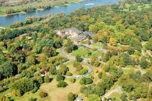 Luftaufnahme, Copyright: Herrenkrug Parkhotel an der Elbe