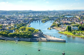 Deutsches Eck in Koblenz - ©pure-life-pictures - stock.adobe.com