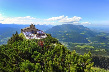 Overview from the top of the Eagles Nest, Kehlsteinhaus, Germany - ©PROMA - stock.adobe.com