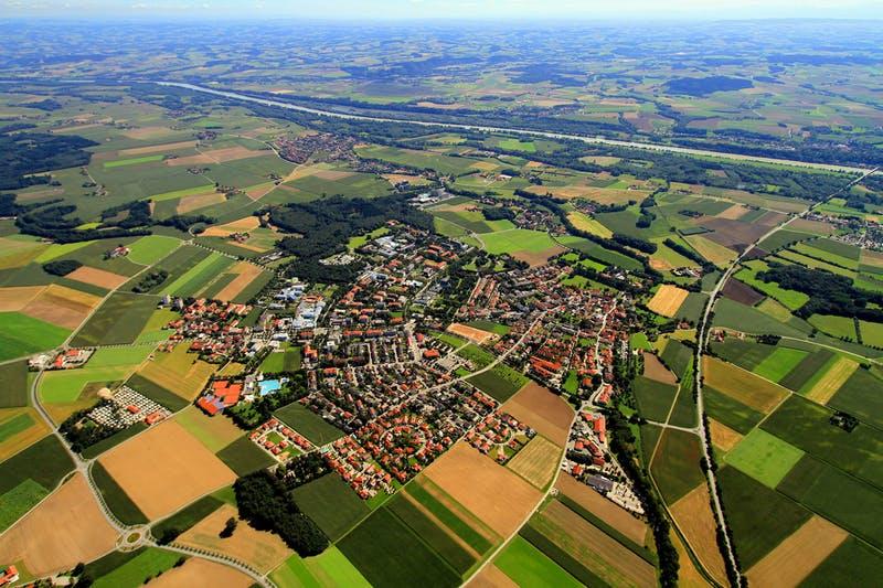 Bad Füssing, Bayerisches Bäder- und Dreiländereck