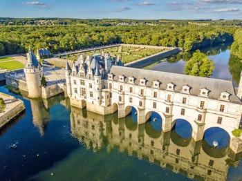 Blick auf Schloss Chenonceaux im Loire-Tal - ©antoine2k - stock.adobe.com