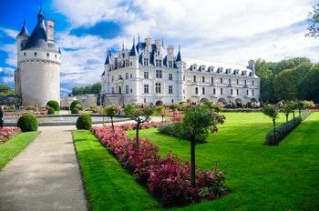 Schloss Chenonceau mit Garten - ©Franzisca Guedel - stock.adobe.com