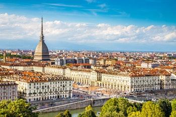 Blick auf das Zentrum Turins  - ©©zm_photo - stock.adobe.com