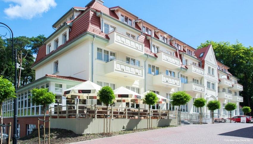 Kur Wellness In Polen 3 Sterne Hotel Kaisers Garten Cesarskie