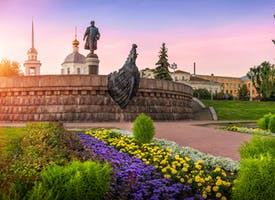 Reisebild: Radreise Russland - Radtouren entlang des Flusses Wolga