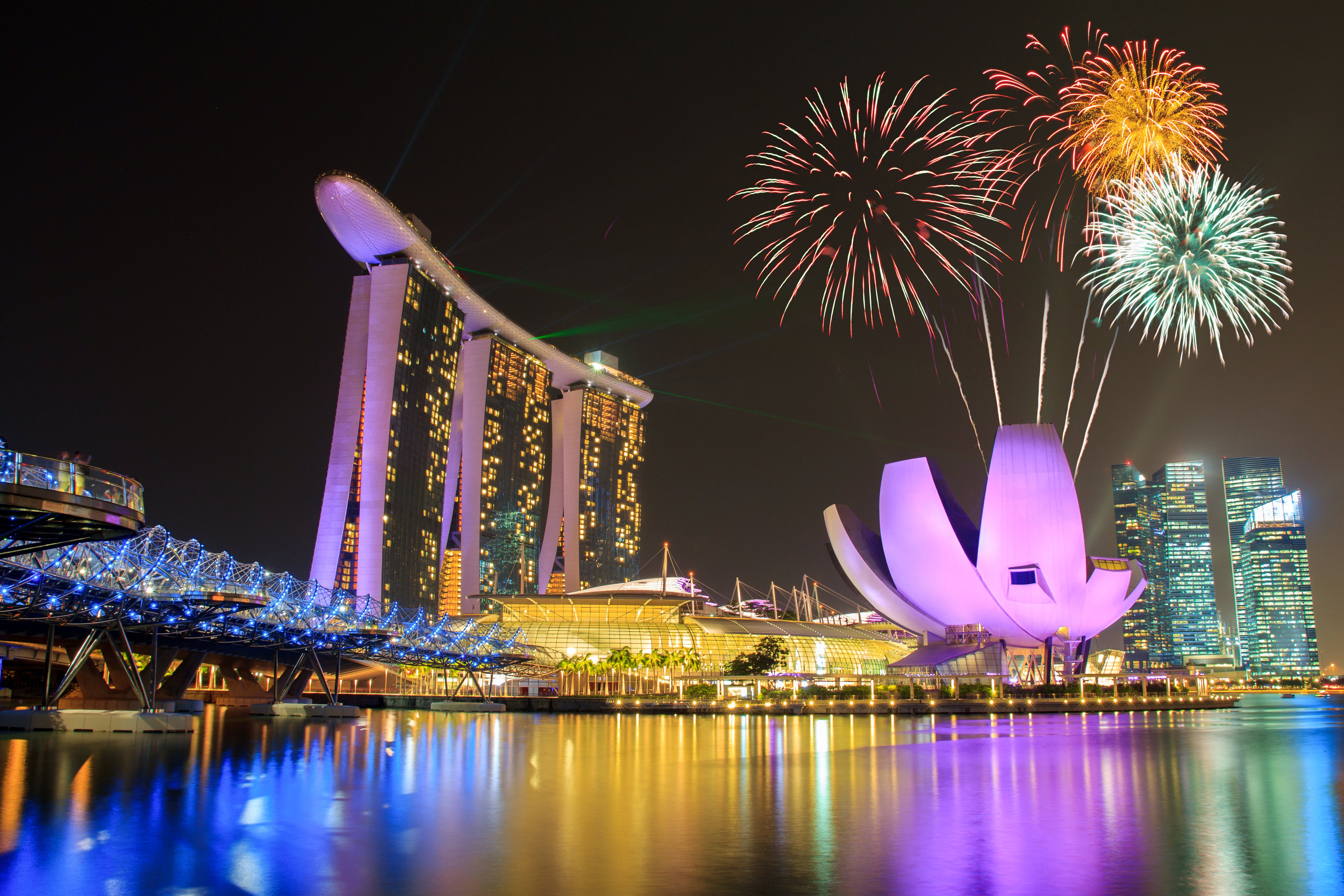Silvester In Singapur Malakka Kuala Lumpur In Malaysia Saison