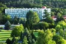 Dudince- Hotel Rubin außen, Copyright: Hotel Smaragd - Hotel Rubin