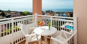 Balkon mit Meerblick - Hotel Puerto Palace, Copyright: Hotel Puerto Palace