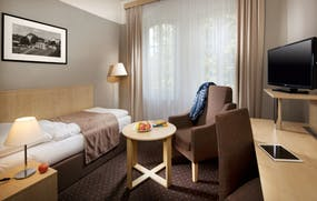 Franzensbad - Spa und Kur Hotel Praha - Zimmerbeispiel Einzelzimmer, Copyright: Spa und Kur Hotel Praha