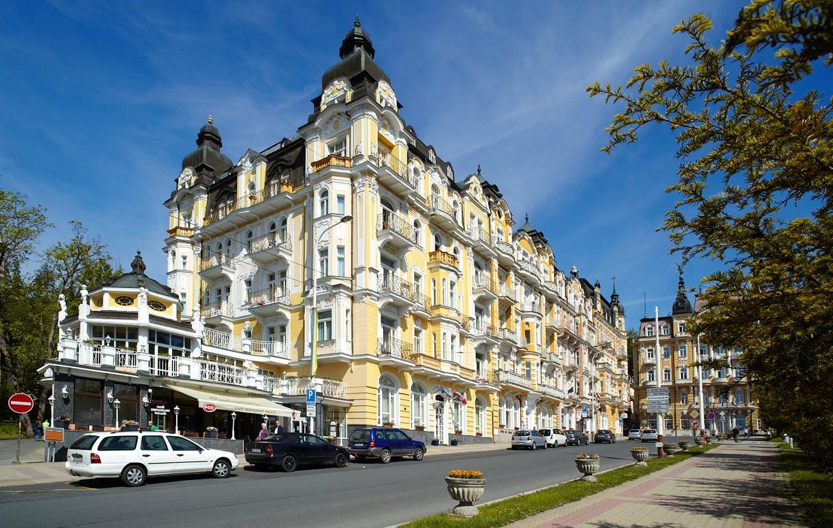 Marienbad Tschechien Kur Spa Hotel Palace Zvon
