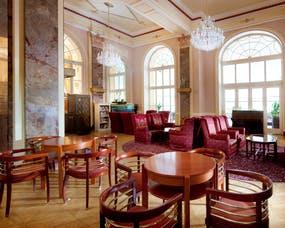 Jachymov - Kurhotel Radium Palace - Lobby, Copyright: Lecebne lazne Jachymov a.s.