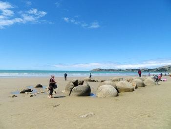 Moeraki Boulders, Südinsel Neuseeland - ©Benjamin Rodriguez Manzanares