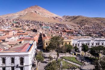 Potosi, Platz des 10. November, Bolivien - ©Julian Peters Photos - Adobe Stock