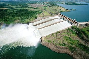 Itaipu-Staudamm - ©Foz do Iguaçu Destino do Mundo, Messe-CD