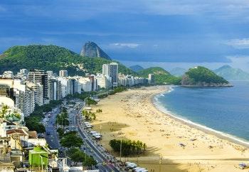 Copacabana Strand in Rio de Janeiro - Brasilien - ©mariana_designer - Fotolia