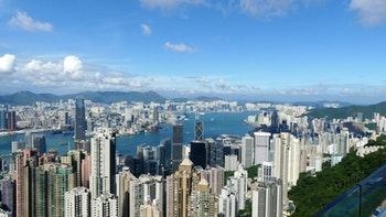 Hongkong, Blick vom Victoria Peak - ©Frank Nimschowski