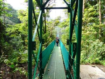 Hängebrücken-Wanderung in Monteverde - Costa Rica - ©Eberhardt TRAVEL