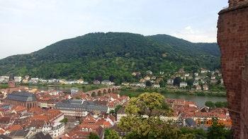 Heidelberg von oben - ©Nadja Klinkhardt