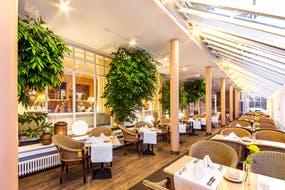 relexa hotel Bad Steben - Wintergarten, Copyright: relexa hotel Bad Steben