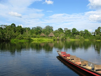 Rio Napo, Amazonas, Ecuador - ©Yannick Zimmermann - Adobe Stock