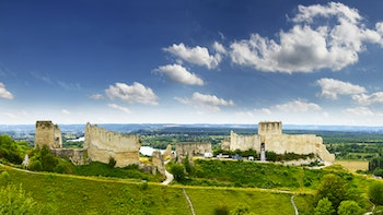 Chateau Gaillard, Les Andelys, Normandie - ©Pecold - Adobe Stock