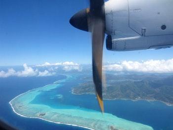 Blick auf Bora Bora - ©Madlen Lippe