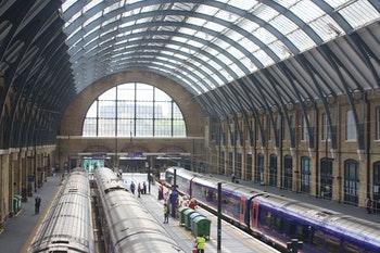 Halle vom Bahnhof Kings Cross - ©Manuela Kreuz