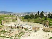 Jerash - Ovales Forum - ©Ralf Kuchenbecker